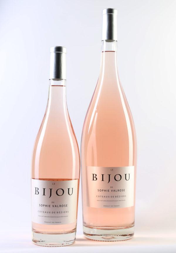 Bijou de Sophie Valrose bottle and Magnum